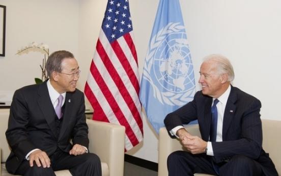 Ex-UN chief sends congratulatory letter to Biden