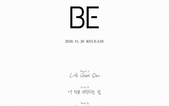 BTS shares details of upcoming album 'BE'