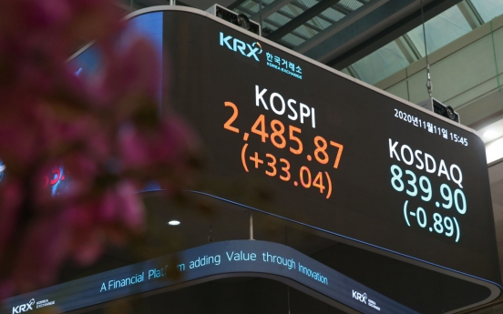 South Korea's stock market cap hits record high