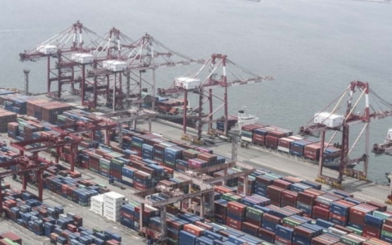 S. Korea's export prices fall for 3rd consecutive month in October