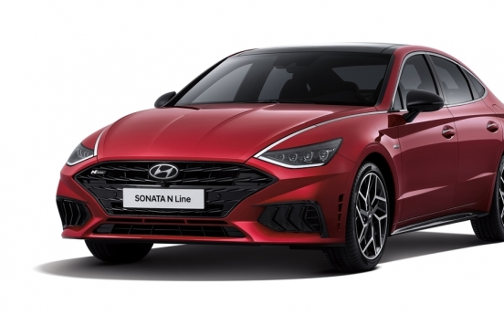Hyundai launches Sonata N Line in S. Korea