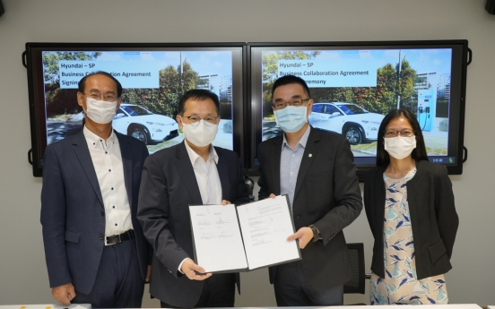 Hyundai Motor partners with SP Group to create EV ecosystem in Southeast Asia