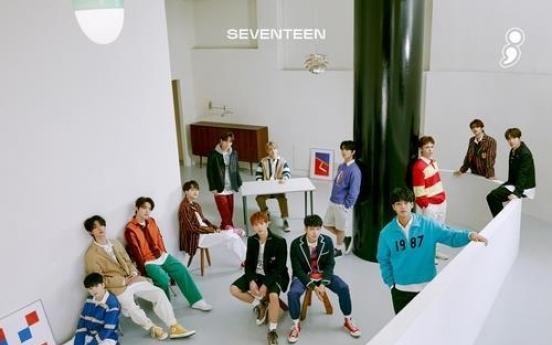 Seventeen's EP 'Semicolon' breaks 1 million in sales