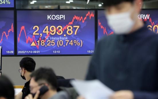 Seoul stocks rebound on chip rally despite global virus resurgence