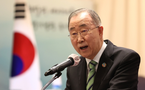 S. Korea should send strong message to N. Korea. not to make provocations: ex-UN chief