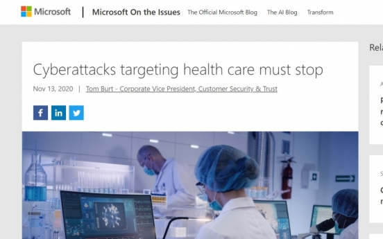 Microsoft says N. Korean, Russian hackers attacking COVID-19 vaccine makers