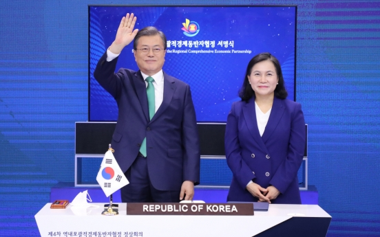 S. Korea signs world's largest free trading deal