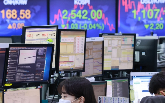 Seoul stocks open flat on valuation pressure
