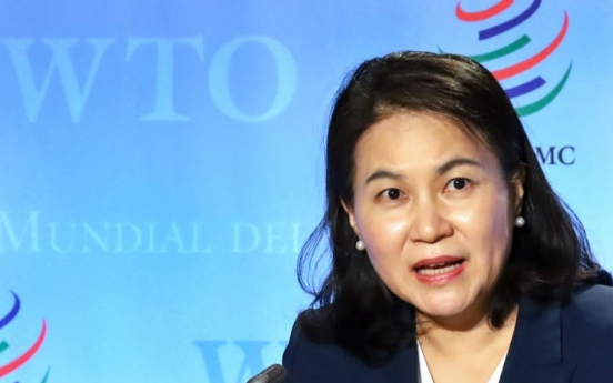 S. Korean candidate hints at continuing bid for WTO top job