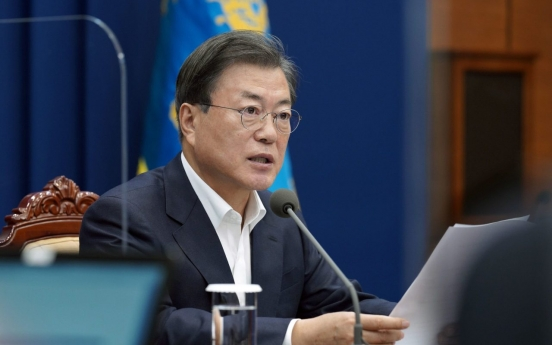 Moon asks for public's cooperation to avoid further tightening of distancing rules