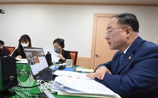 Korean economy maintaining recovery momentum amid pandemic: finance minister