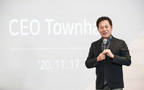 SKT CEO pushes ahead with remote working
