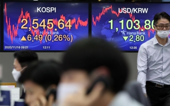 Seoul stocks open lower on valuation pressure, virus concerns