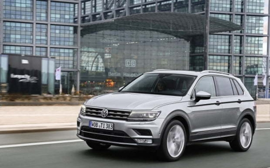 Volkswagen Tiguan sells 10,000 units in Korea this year