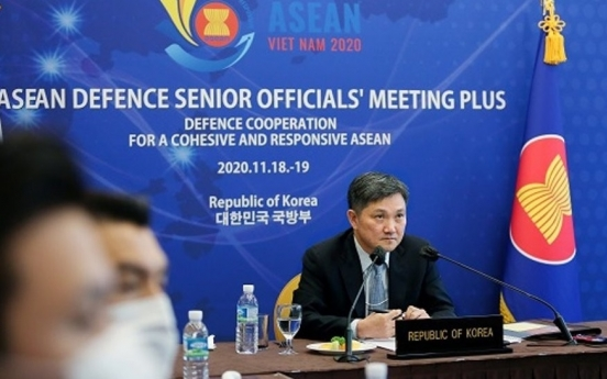Defense ministry seeks support for Korea peace process at ASEAN security meeting