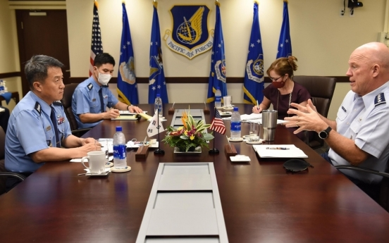 S. Korea, US agree to boost space defense cooperation