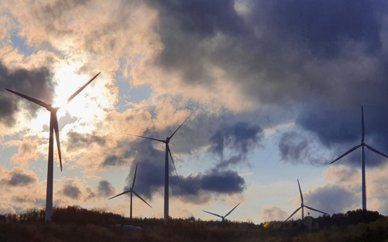 [From the Scene] Kospo undaunted in wind power plans