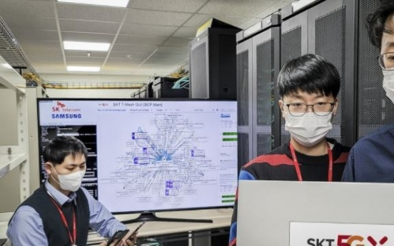 SK Telecom, Samsung develop advanced cloud native core network system