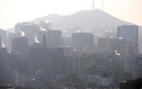 Seoul morning temperature dips below zero