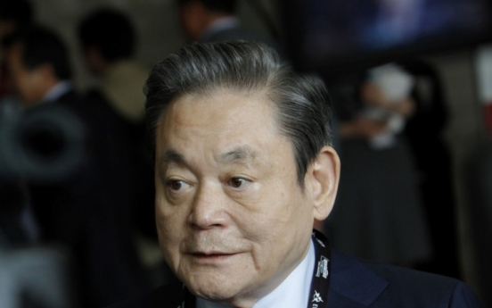 Late Samsung chairman's stocks rise further in value