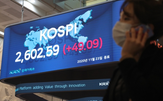 Driven by foreign buying, Kospi hits all-time closing high