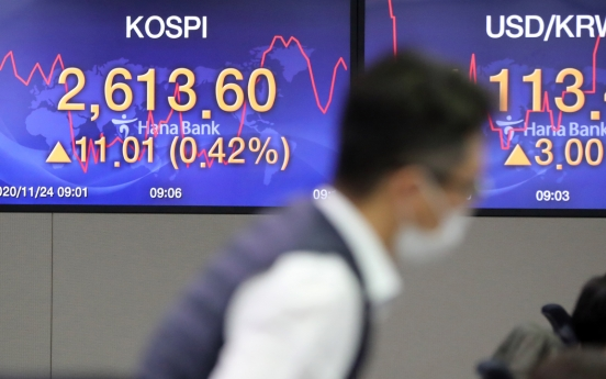 Seoul stocks open higher on recovery hopes