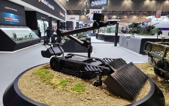 S. Korea to develop indigenous robot for explosives detection, removal