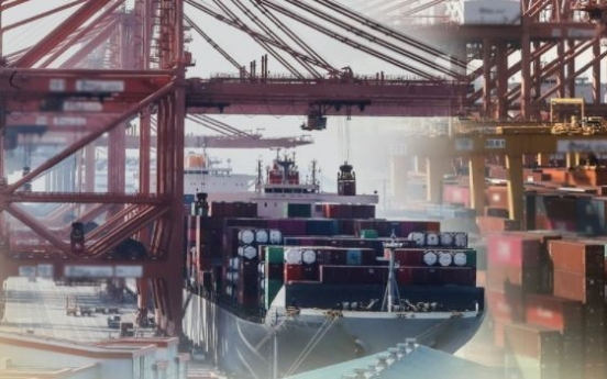 S. Korea's Nov. exports tipped to rebound 6.6%: poll