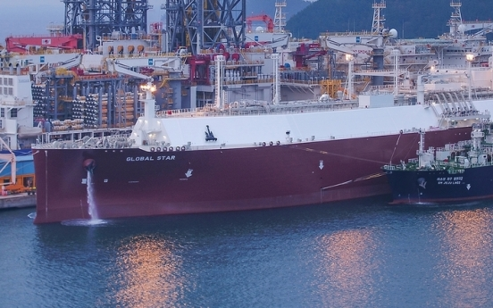 Daewoo Shipbuilding succeeds in ship-to-ship LNG loading test