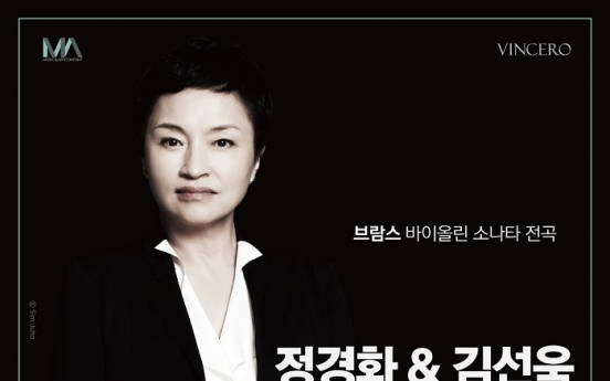 Kim Sun-wook, Chung Kyung-wha duo to go onstage on Dec. 18