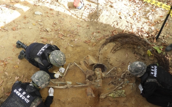 S. Korea identifies remains of two Korean War soldiers