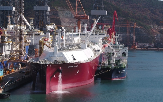 Kogas completes world's first ship-to-ship LNG bunkering test