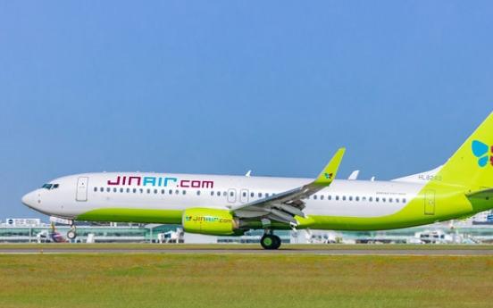 Jin Air to resume flights to Fukuoka next month