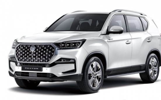 SsangYong's Nov. sales rise 10% on increased exports