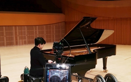 Pianist Sunwoo Yekwon to give virtual reality tour of Lotte Concert Hall