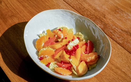 [Diana's Table] Persimmon citrus salad