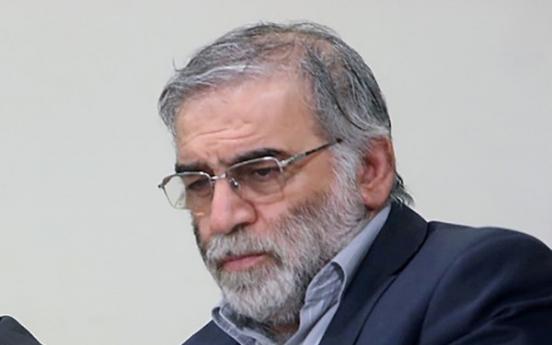 S. Korea denounces killing of Iranian nuclear scientist