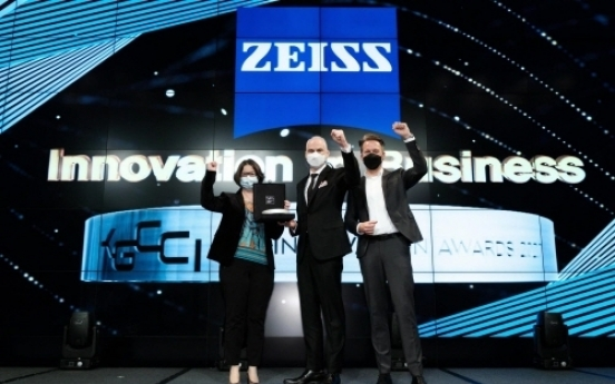 ZEISS Korea honored with 'Innovation in Business' at 6th KGCCI Innovation Awards