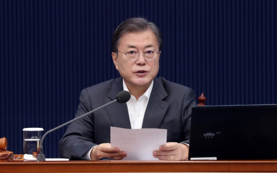 Moon says 'procedural justification' is important over prosecution chief's fate