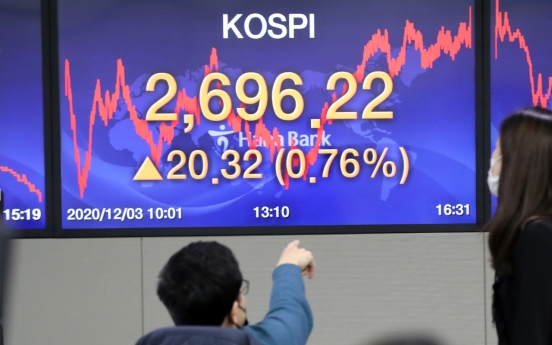 Kospi rally continues as Samsung Electronics shares hit W70,000 mark