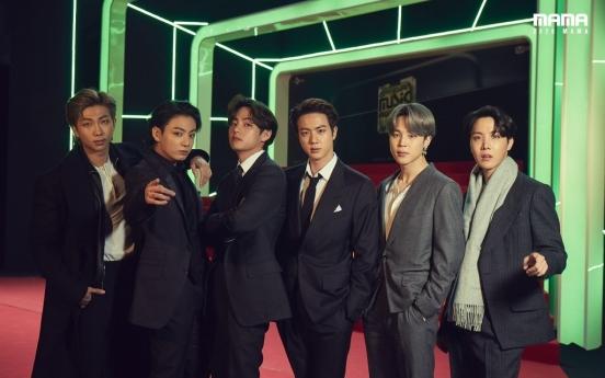 BTS wins big, performs at K-pop awards show MAMA 2020