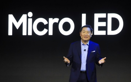 Samsung to unveil new Micro LED TV this week