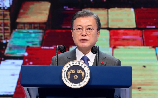 Moon says trans-Pacific trade pact will be considered