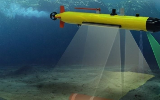 S. Korea to develop autonomous underwater mine detector