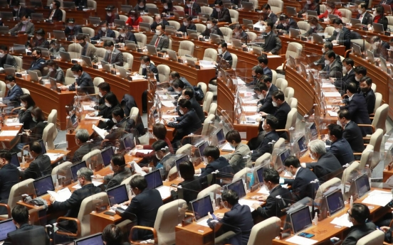 Ruling party seeks to pass controversial bills at plenary session