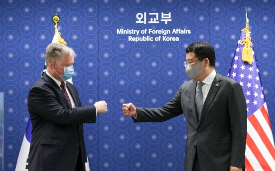 Biegun stresses close cooperation with Seoul in dealing with NK