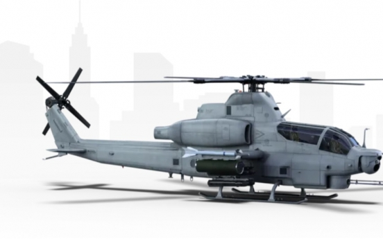US firm touts attack helicopter to S. Korea