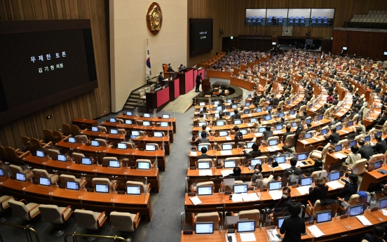 Parliament passes key economic proposals, contentious bills stalled amid opposition protest