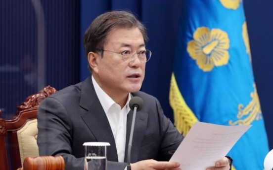 Moon's approval rating dips again, reaches new low of 37.1%: poll
