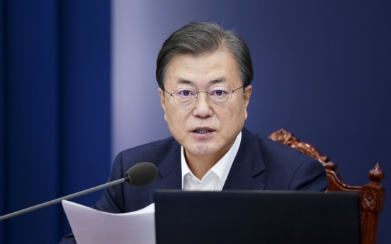 Moon hails passage of bill on anti-corruption investigative body